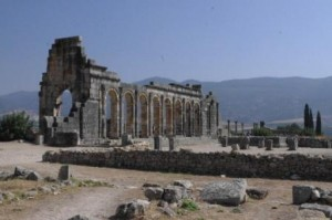 Volubilis remains of forum