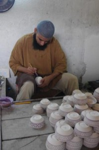 Ceramic painter