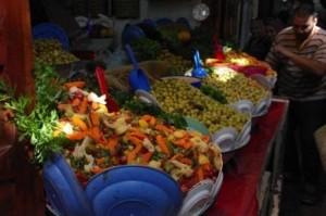 Salad stall