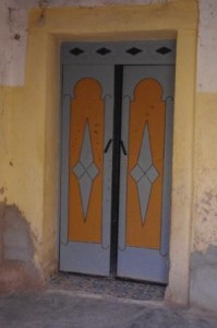 Sijilmassa doorway