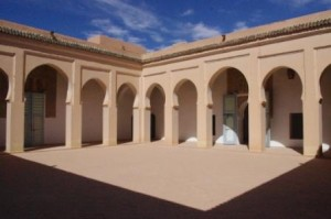 Sijilmassa central courtyard