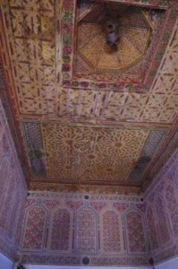 Kasbar Taourirt Ceiling