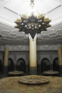Hassan II Mosque Washroom