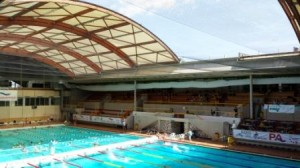 Piscine Georges Vallerey with open roof