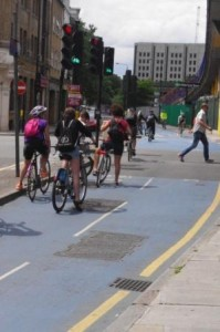 CS£ Sunday Cyclists go on the green light
