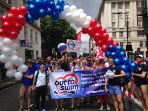Pride 14 - That's me on the left holding the baloons