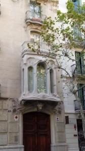 Art Nouveau facade
