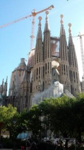 La Sagrada west