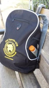 Complimentary sports bag