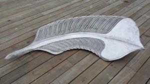 Raukura - The Plume by Toi Te Rangiuaia Aluminium