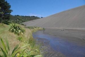Dunes and stream