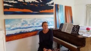 Kim Wesney's studio