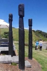 Hei Matau sculpture