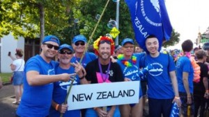 Team Auckland Parade