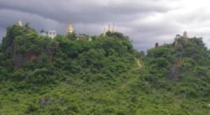 Hilltop pagodas