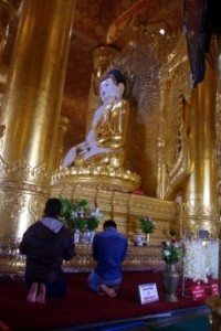Giant Marble Buddha