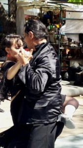 Tango in the square
