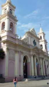Cathedral de Salta on the Plaza
