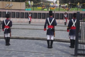 Malvinas Monument changing the guards