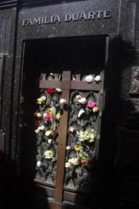Recoleta Cemetary Duarte Tomb