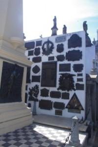 President Sarmiento's grave
