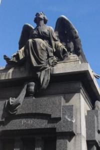 Recoleta Cemetary Angel