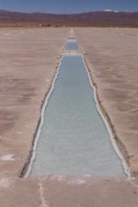 Salt lake canal