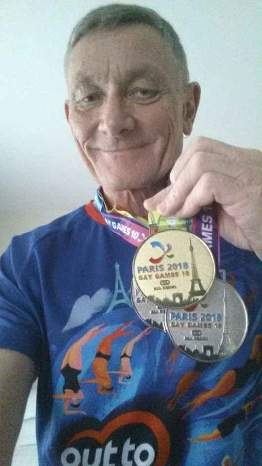 ... one gold and two silver medals